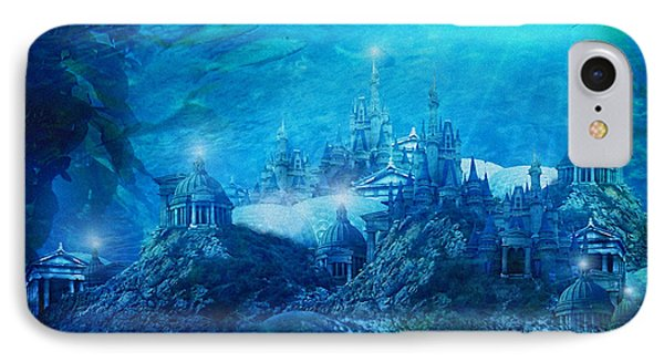 The Lost City IPhone Case by Mary Hood