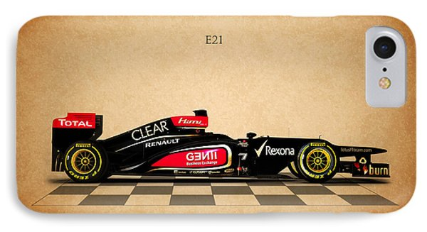 The Lotus E21 IPhone Case by Mark Rogan