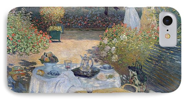 The Luncheon IPhone Case by Claude Monet