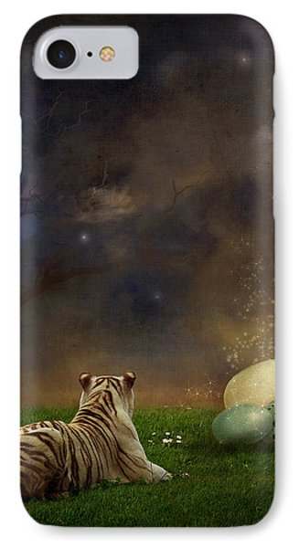 The Magical Of Life Phone Case by Martine Roch