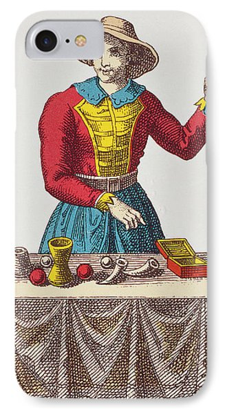 The Magician Tarot Card IPhone Case by French School