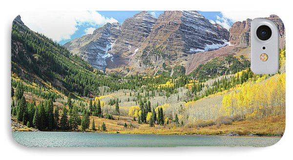 The Maroon Bells I IPhone Case by Eric Glaser
