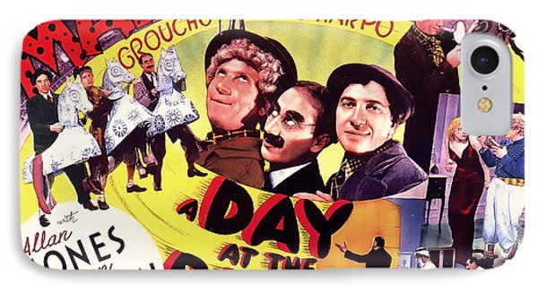 The Marx Bros - A Day At The Races 1927 IPhone Case by Mountain Dreams