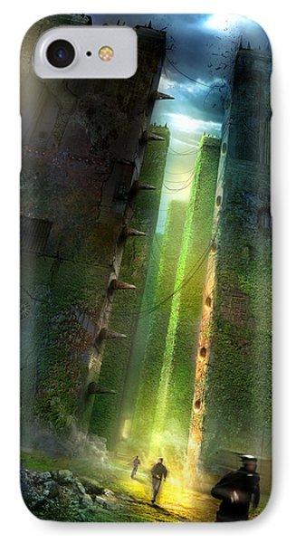 The Maze Runner IPhone Case by Philip Straub