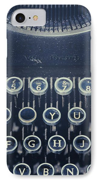 The Missing Letter IPhone Case by Joana Kruse