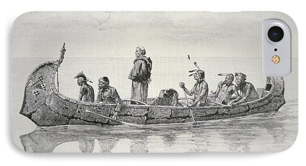 The Missionary IPhone Case by Frederic Remington