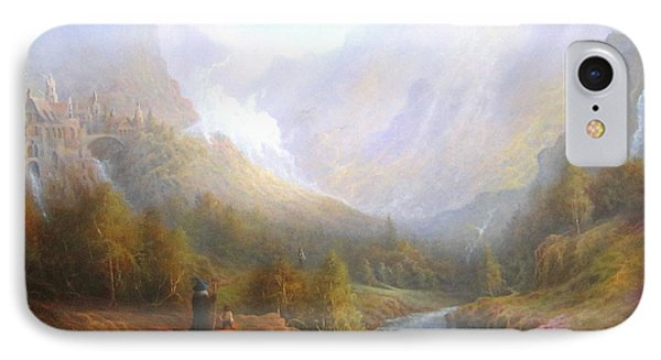 The Misty Mountains IPhone 7 Case by Joe  Gilronan