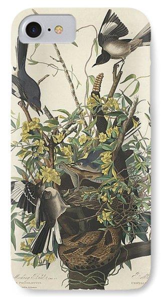 The Mockingbird IPhone 7 Case by John James Audubon