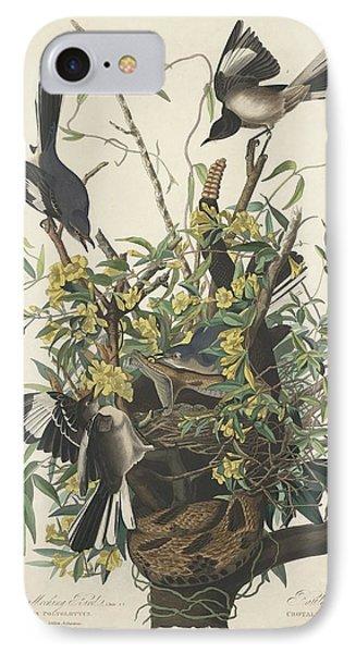 The Mockingbird IPhone Case by John James Audubon