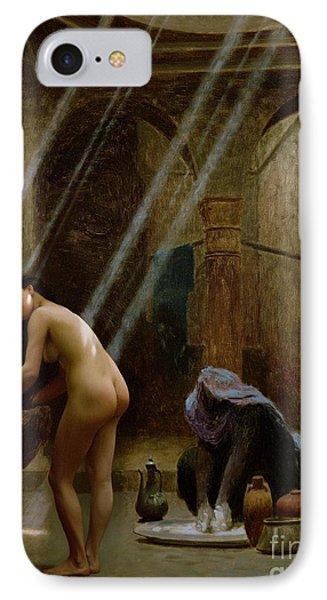 The Moorish Bath Phone Case by Jean Leon Gerome