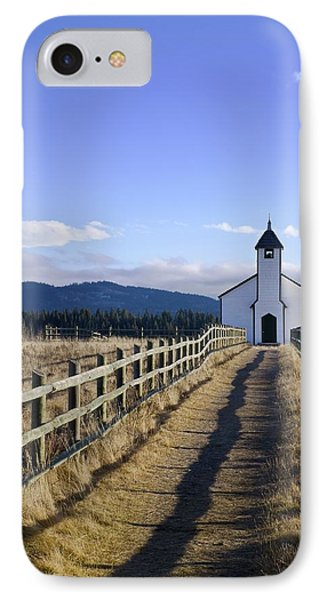 The Morley Church, Alberta, Canada Phone Case by Philippe Widling