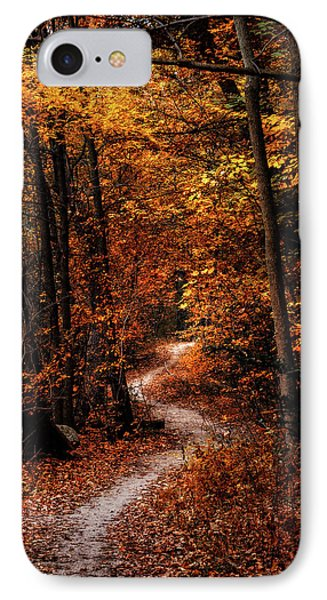 The Narrow Path IPhone Case by Scott Norris