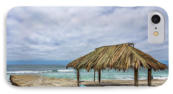 The New Surf Hut At Windandsea IPhone Case by Peter Tellone