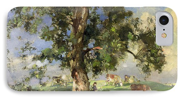 The Old Ash Tree Phone Case by Edward Arthur Walton