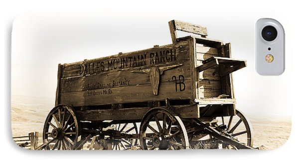 The Old Wagon Phone Case by Steve McKinzie