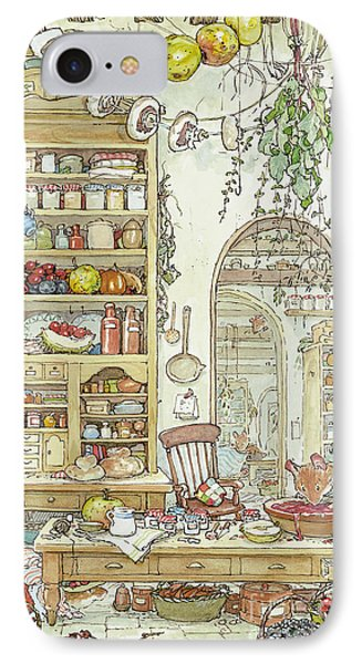 The Palace Kitchen IPhone 7 Case by Brambly Hedge