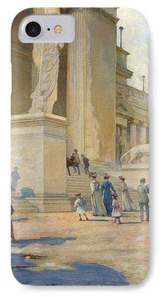 The Palace Of Fine Arts  IPhone Case by Edwin Howland Blashfield