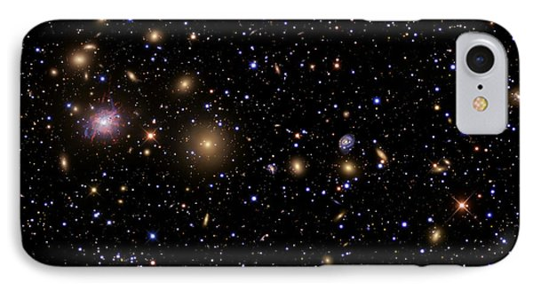 The Perseus Galaxy Cluster Phone Case by R Jay GaBany