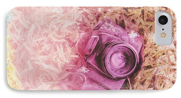 The Pink Camera IPhone Case by Jorgo Photography - Wall Art Gallery