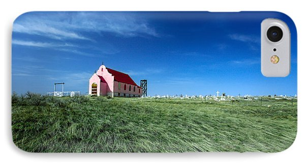 The Pink Church IPhone Case by Todd Klassy