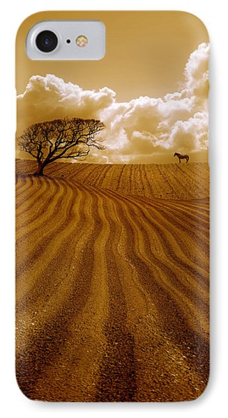 The Ploughed Field Phone Case by Mal Bray
