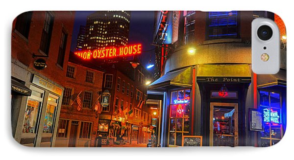 The Point Marshall Street Boston Ma IPhone Case by Toby McGuire