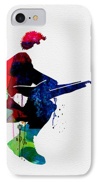 The Police Watercolor IPhone Case by Naxart Studio