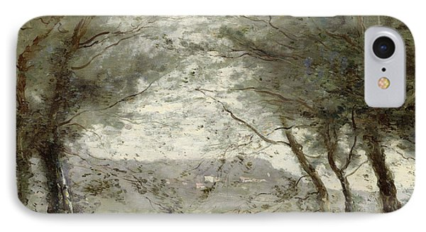 The Pond IPhone Case by Jean Baptiste Corot