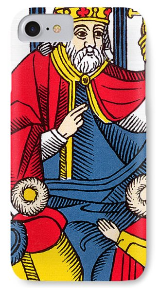 The Pope Tarot Card IPhone Case by French School