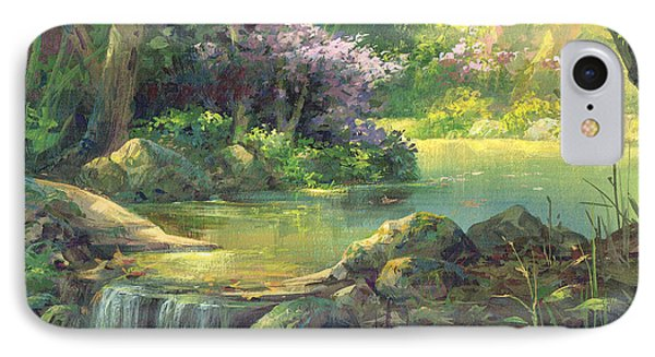 The Quiet Creek IPhone Case by Michael Humphries