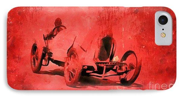 The Race IPhone Case by Edward Fielding