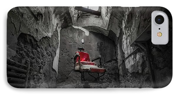 The Red Chair IPhone Case by Kristopher Schoenleber