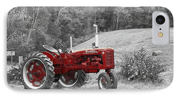 The Red Tractor IPhone Case by Aimelle