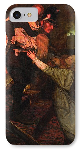 The Rescue IPhone Case by John Everett Millais