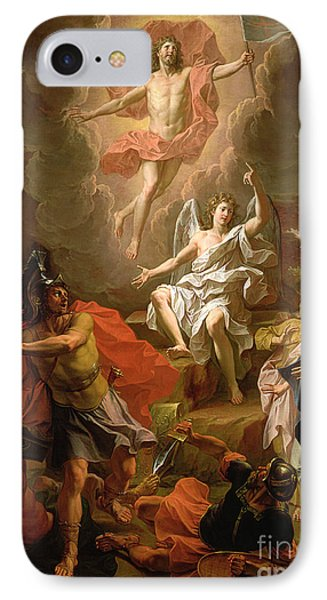 The Resurrection Of Christ IPhone Case by Noel Coypel