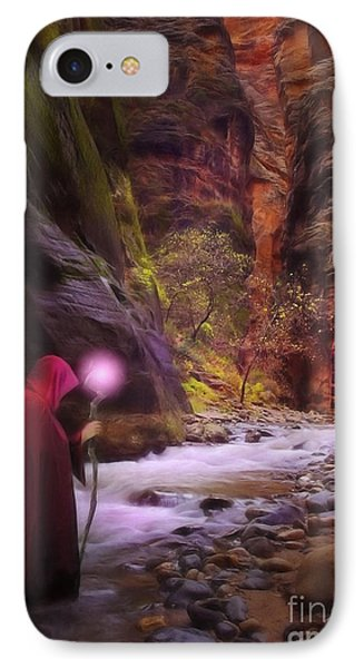 The Road Less Traveled IPhone Case by John Edwards
