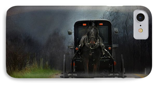 The Road Less Traveled IPhone Case by Lori Deiter