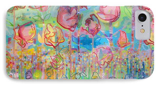 The Rose Garden, Love Wins IPhone 7 Case by Kimberly Santini