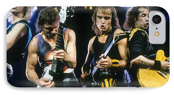 The Scorpions Phone Case by Rich Fuscia