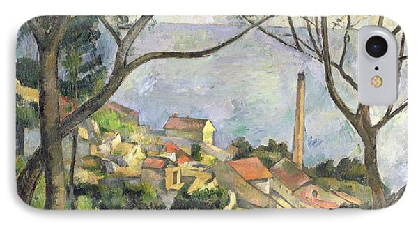 The Sea At L Estaque IPhone Case by Paul Cezanne