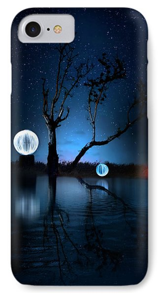 The Secret Of Orb Island IPhone Case by Mark Andrew Thomas