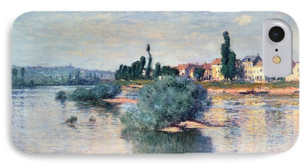 The Seine At Lavacourt IPhone Case by Claude Monet