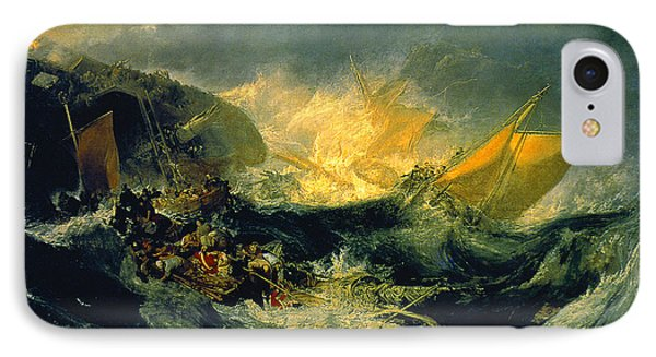 The Shipwreck Of The Minotaur IPhone Case by MotionAge Designs