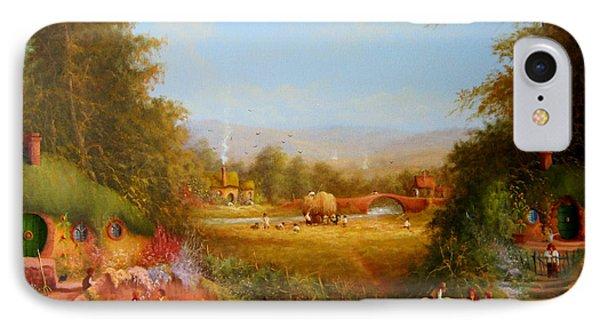 The Shire. IPhone Case by Joe  Gilronan