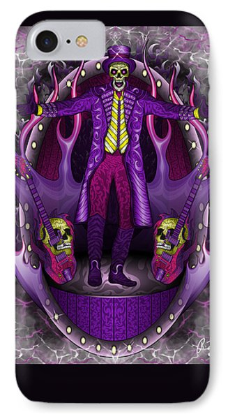 IPhone Case featuring the drawing The Show Stopper by Raphael Lopez