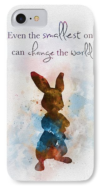 The Smallest One IPhone Case by Rebecca Jenkins