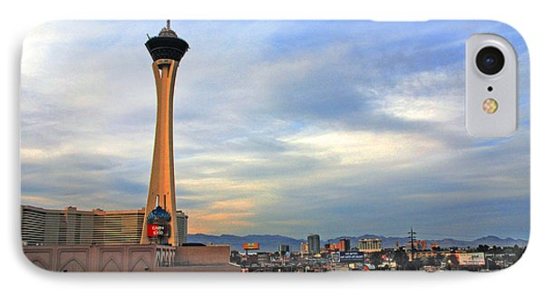 The Stratosphere In Las Vegas IPhone Case by Susanne Van Hulst