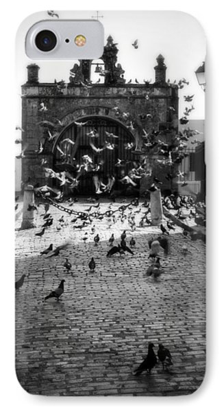 The Street Pigeons Phone Case by Perry Webster