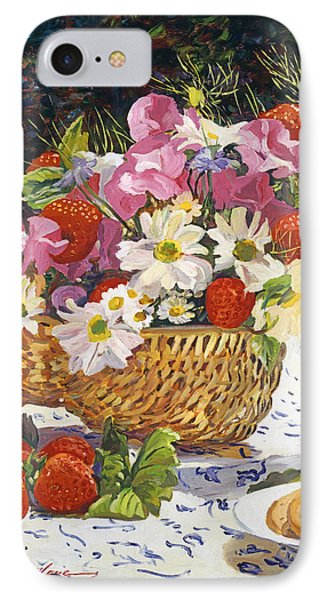 The Summer Picnic IPhone Case by David Lloyd Glover