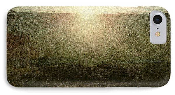 The Sun IPhone Case by Giuseppe Pellizza da Volpedo